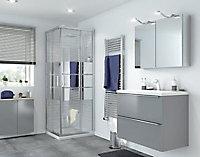 Portes de douche angle droit miroir GoodHome Beloya 70 x 70 cm