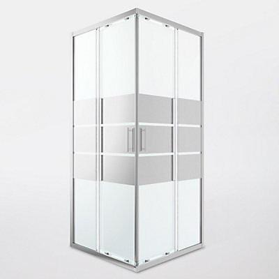 Portes De Douche Angle Droit Miroir Goodhome Beloya 90 X 90 Cm Castorama