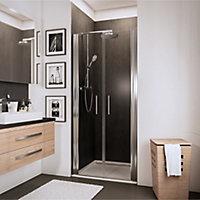 Portes de douche battantes, 70 x 192 cm, Schulte NewStyle, verre transparent anticalcaire
