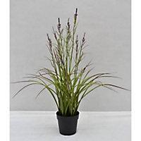 Pot Acorus fleuri artificiel