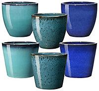 Pot Azulejos terre cuite ø28 cm