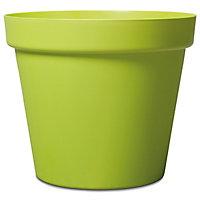Pot rond plastique Blooma Nurgul vert ø70 x h.59 cm
