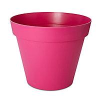 Pot rond plastique Blooma Toscane rose ø100 x h. 79 cm