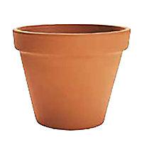 Pot rond terre cuite Ø25 x h.20,8 cm