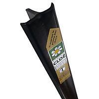 Poteau Cloe noir 30 x 40mm H. 1,75 m