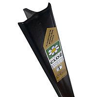 Poteau Cloe noir 30 x 40mm H. 2 m