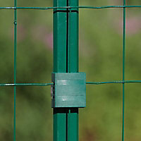 Poteau Cloe vert 30 x 40mm H. 0,75 m