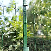 Poteau Cloe vert 30 x 40mm H. 1,45 m