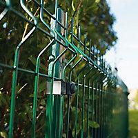 Poteau Cloe vert 30 x 40mm H. 1 m