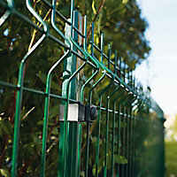 Poteau Cloe vert 30 x 40mm H. 2 m