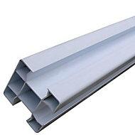 Poteau de clôture en PVC 80 x 80 mm L.2,3 m