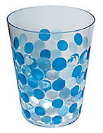 Poubelle bleue Form Optic