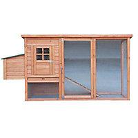 Poulailler en bois 1,12 m²