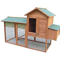 Poulailler en bois 1,42 m²