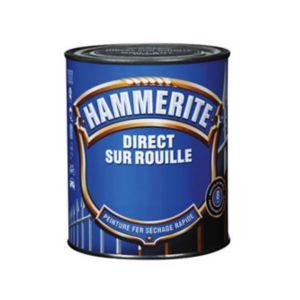 Peinture fer antirouille HAMMERITE gris zinc forgé 0,75L | Castorama