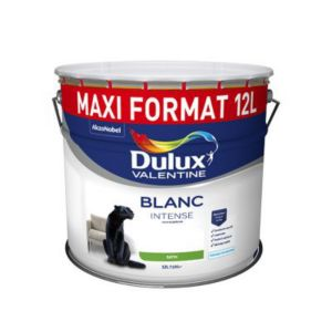 peinture dulux valentine murs et plafonds blanc sat 12l castorama. Black Bedroom Furniture Sets. Home Design Ideas