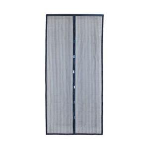 moustiquaire de porte magn tique 100 x 220 cm castorama. Black Bedroom Furniture Sets. Home Design Ideas