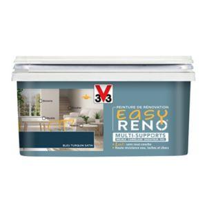 Peinture De Rénovation Multi Supports V33 Easy Reno Bleu Turquin