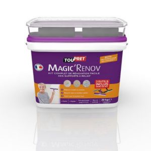 enduit de r novation toupret magic 39 r nov 20kg kit