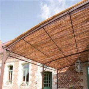 paillon d 39 ombrage roseau pel nortene naturel 5 x h 2 m castorama. Black Bedroom Furniture Sets. Home Design Ideas