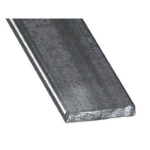 plat acier verni 10 x 4 mm 1 m castorama. Black Bedroom Furniture Sets. Home Design Ideas