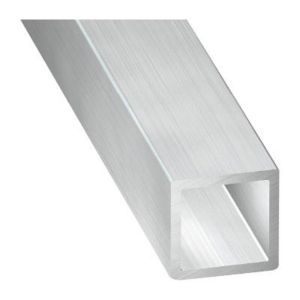 tube carr aluminium brut 20 x 20 mm 2 m castorama. Black Bedroom Furniture Sets. Home Design Ideas