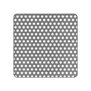 Tôle Perforée Aluminium Ep 1 Mm 500 X 250 Mm Castorama