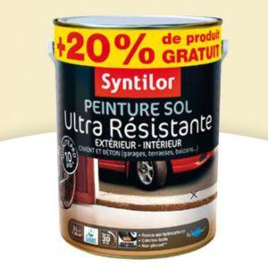 peinture sol syntilor palette satin 2 5l 20 gratuit castorama. Black Bedroom Furniture Sets. Home Design Ideas