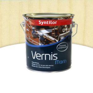 vernis marin bois int rieur ext rieur syntilor incolore satin 2 5l castorama. Black Bedroom Furniture Sets. Home Design Ideas