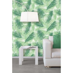 papier peint intiss tropical vert castorama. Black Bedroom Furniture Sets. Home Design Ideas