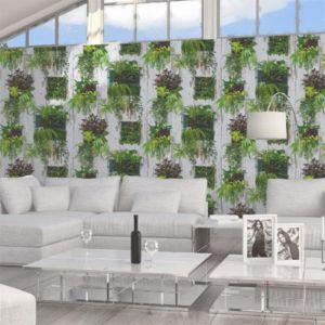 papier peint papier sur papier lutece cadre v g tal. Black Bedroom Furniture Sets. Home Design Ideas
