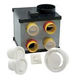 Kit Vmc Simple Flux Autoréglable Aldes Circulair Compact