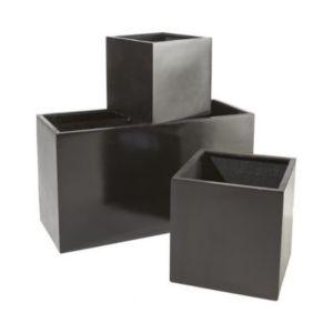 jardini re muret composite noir 100 x 40 x cm castorama. Black Bedroom Furniture Sets. Home Design Ideas