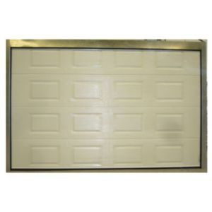 Porte de garage sectionnelle cassettes blanche paris l - Porte de garage sectionnelle 300 x 200 ...
