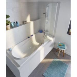 baignoire allibert amelia 170 x 75 cm castorama. Black Bedroom Furniture Sets. Home Design Ideas