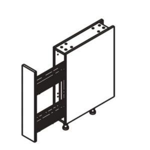 meuble bas range pices cooke lewis 15 cm castorama. Black Bedroom Furniture Sets. Home Design Ideas