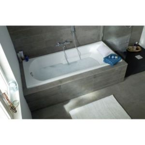 baignoire 180 x 80 cm form oxygen castorama. Black Bedroom Furniture Sets. Home Design Ideas