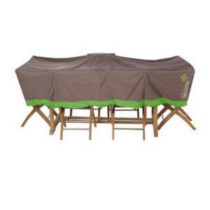 housse pour table blooma marron 240 x 120 x 60 cm castorama. Black Bedroom Furniture Sets. Home Design Ideas