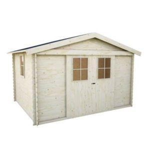 abri de jardin bois blooma gent 7 65m castorama. Black Bedroom Furniture Sets. Home Design Ideas