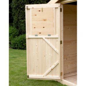 Volets intérieurs porte pour abri de jardin bois Castorama Gent ...