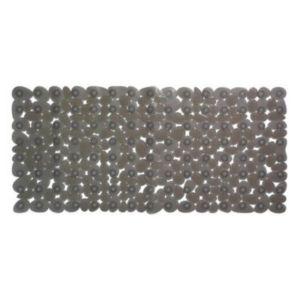 Tapis De Bain Antidérapant Gris 33 X 71 Cm Galets Castorama