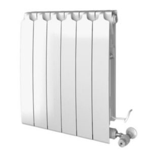 radiateur mixte eau chaude blyss agua 968w lectrique 1000w castorama. Black Bedroom Furniture Sets. Home Design Ideas