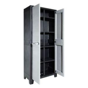 armoire haute plastique holo multispace x x cm castorama. Black Bedroom Furniture Sets. Home Design Ideas