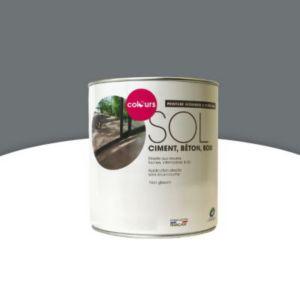 peinture sol int rieur ext rieur colours b ton satin 0 5l castorama. Black Bedroom Furniture Sets. Home Design Ideas