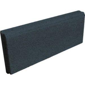 bordure droite noire 50 x 20 cm p 5 cm castorama. Black Bedroom Furniture Sets. Home Design Ideas