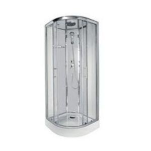 cabine de douche d'angle castorama