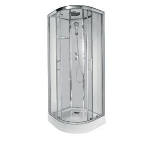 Cabine de douche blanche COOKE
