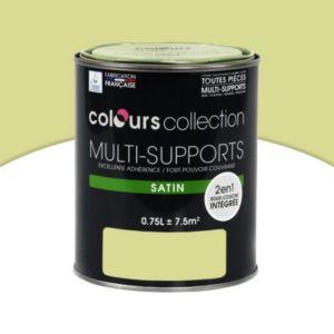 peinture multi supports colours collection citronnelle satin 0 75 l castorama. Black Bedroom Furniture Sets. Home Design Ideas