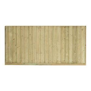 Panneau bois anti-bruit Oza 180 x h.90 cm | Castorama