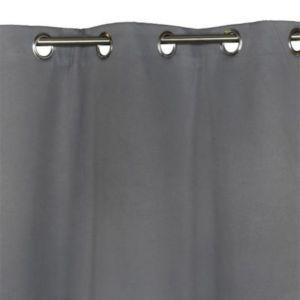 Rideau thermique COLOURS Asuel gris 135 x 240 cm | Castorama